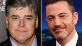 Sean Hannity and Jimmy Kimmel