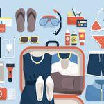 Comment faire sa valise comme une hôtesse de