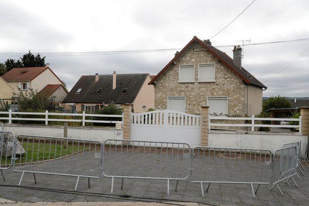 La maison de Guy Joao, arrêté par erreur par la police écossaise qui l'a confondu...