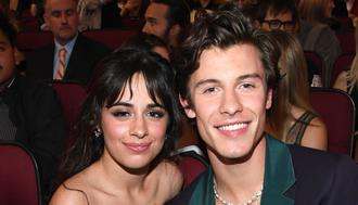 LOS ANGELES, CALIFORNIA - NOVEMBER 24: Camila Cabello and Shawn Mendes attend the 2019 American Music Awards at Microsoft Theater on November 24, 2019 in Los Angeles, California. (Photo by Kevin Mazur/AMA2019/Getty Images for dcp)