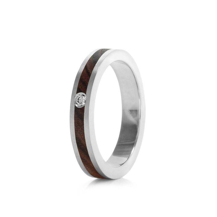 Wood Engagement Ring, Etsy