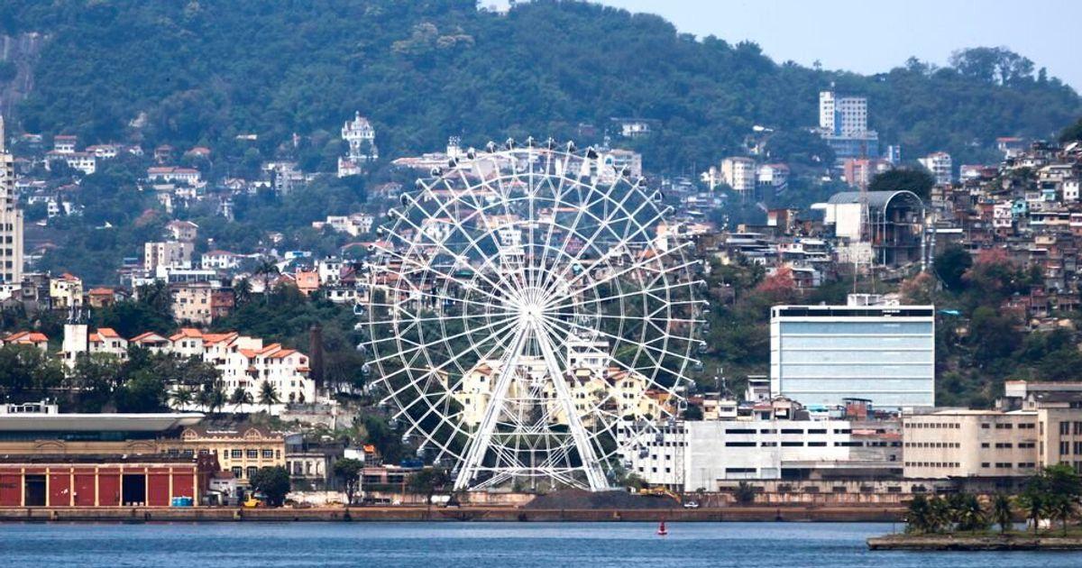 Rio de Janeiro inaugura a maior roda-gigante da América Latina