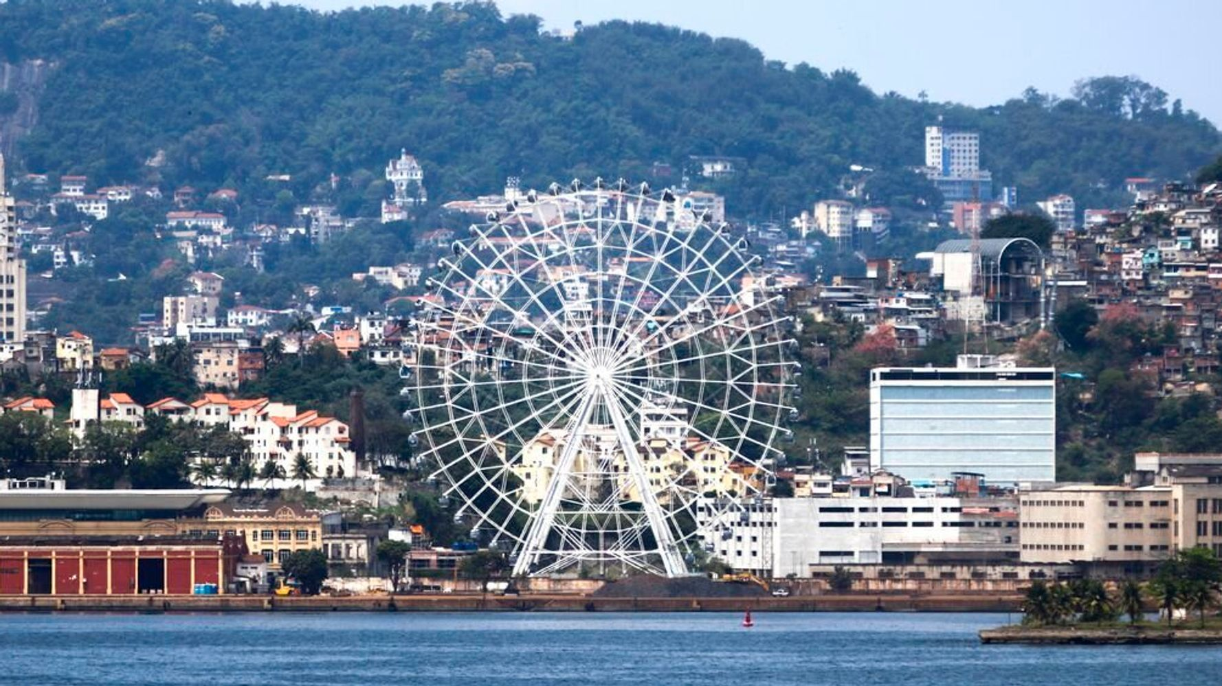 Rio de Janeiro acaba de ganhar a maior roda-gigante da América Latina