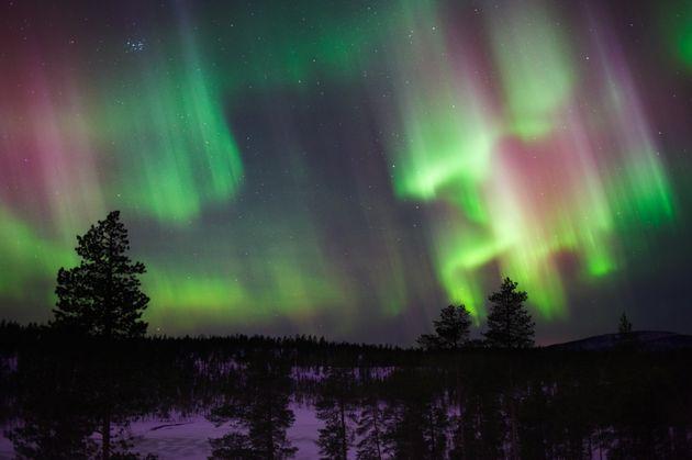 Aurora Boreal: Como é 'caçar' as luzes verdes na