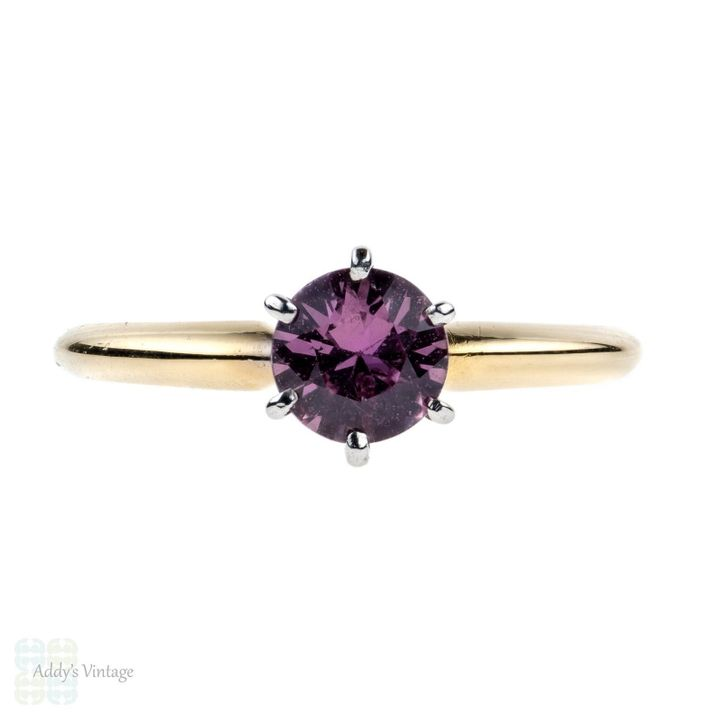 Pink Sapphire Engagement Ring, Etsy