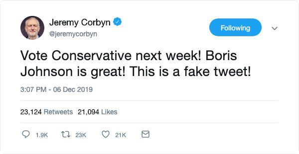 How Fake Jeremy Corbyn Tweet About London Bridge Spread Like Wildfire In Minutes