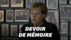 Merkel pour la première fois à Auschwitz, dont la mémoire est
