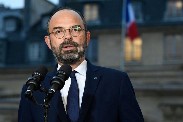 Edouard Philippe à Matignon, le 6 décembre