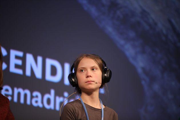 Greta Thunberg, en