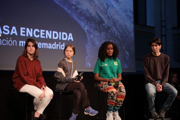 Greta Thunberg, en Madrid: