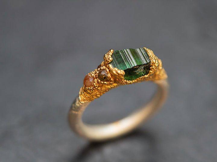Baroque Wedding Ring, Etsy