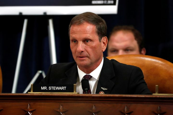 Rep. Chris Stewart is a Republican lawmaker from Utah.