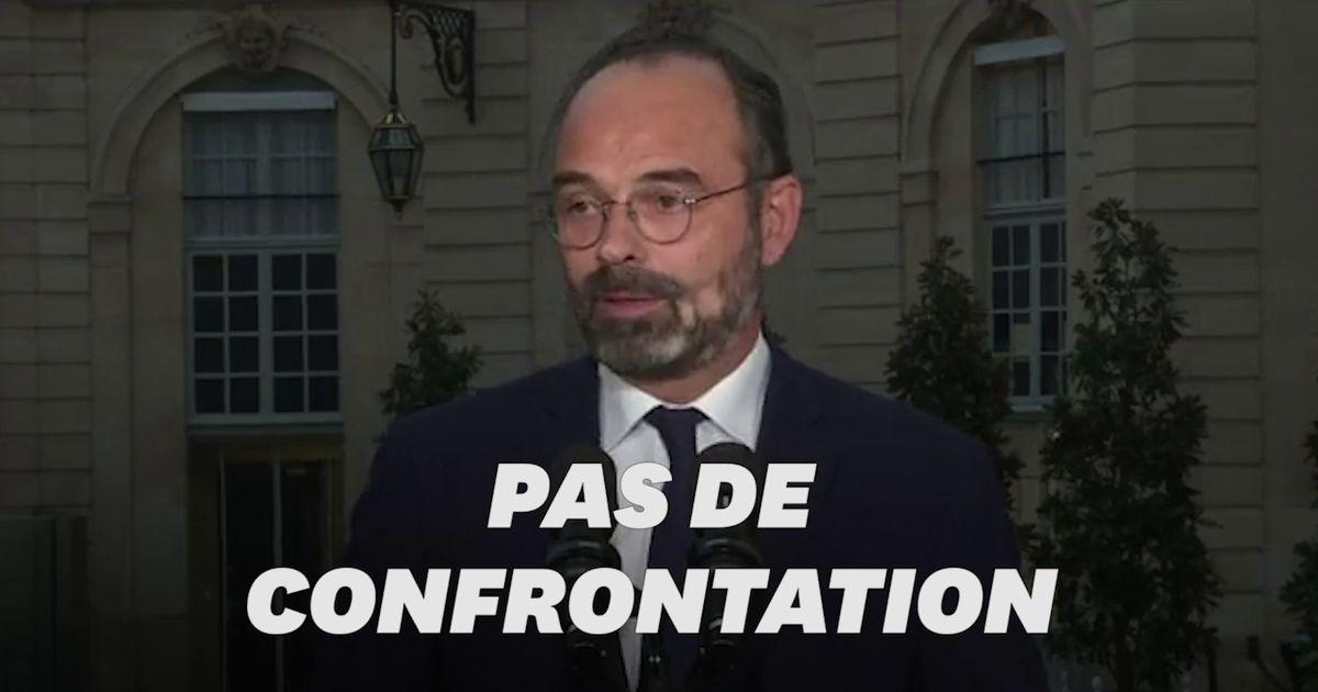 """Sur les retraites, Philippe appelle à ne pas stigmatiser """"certaines catégories de Français"""""""