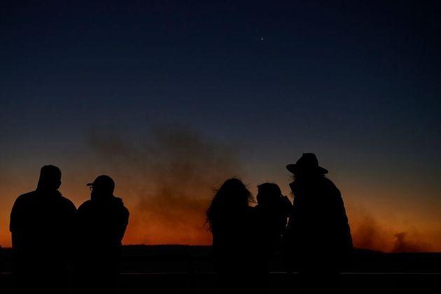Εικόνες αποκάλυψης: Όταν ο ουρανός του Σίδνεϊ άλλαξε