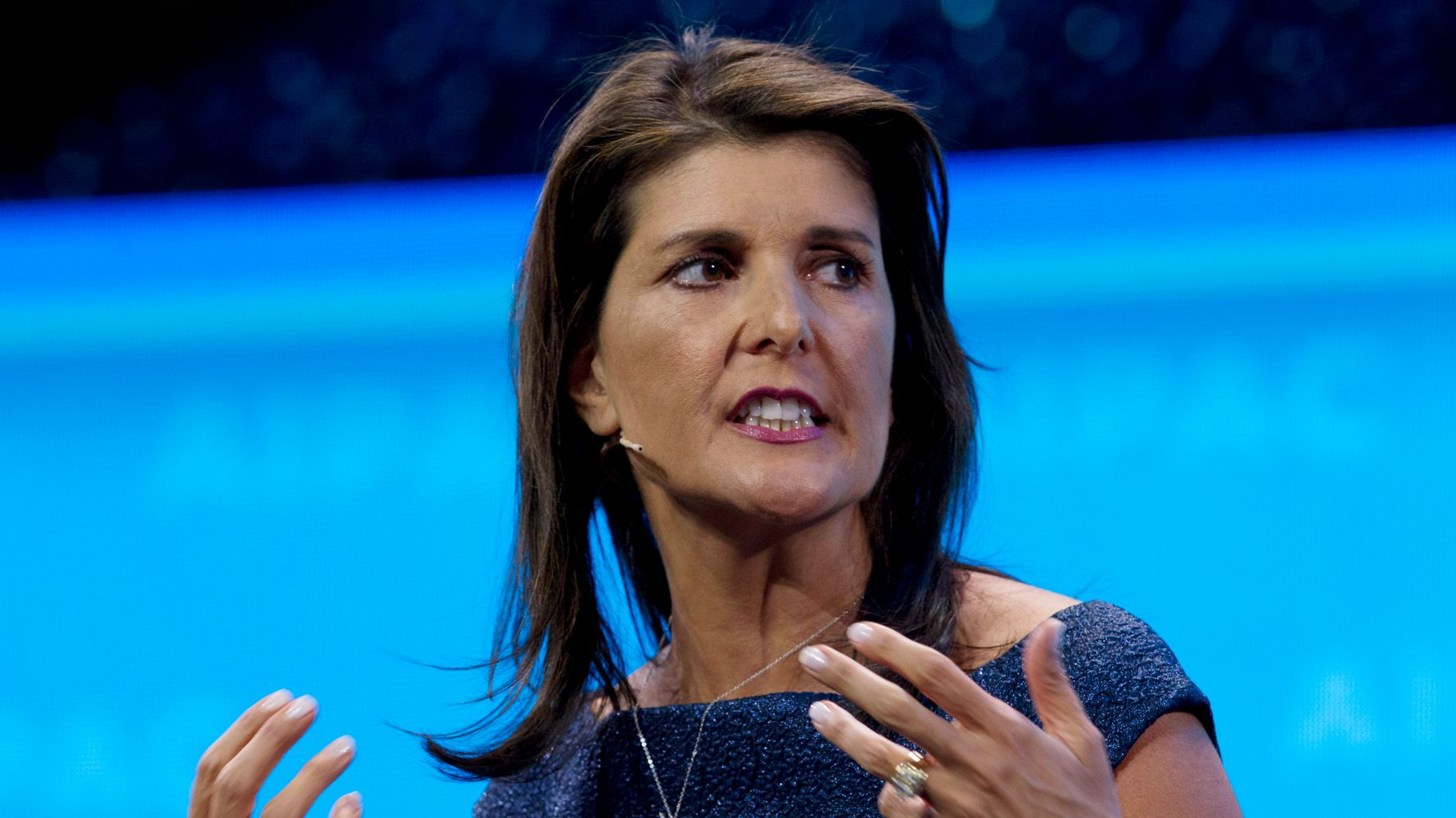 Westlake Legal Group 5dea96d9250000b64cd2f6c5 Nikki Haley: Confederate Flag Was About 'Heritage' Until Dylann Roof 'Hijacked' It