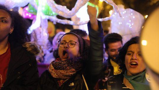 La Marcha por el Clima en Madrid, en