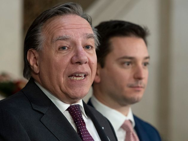 François Legault et Simon