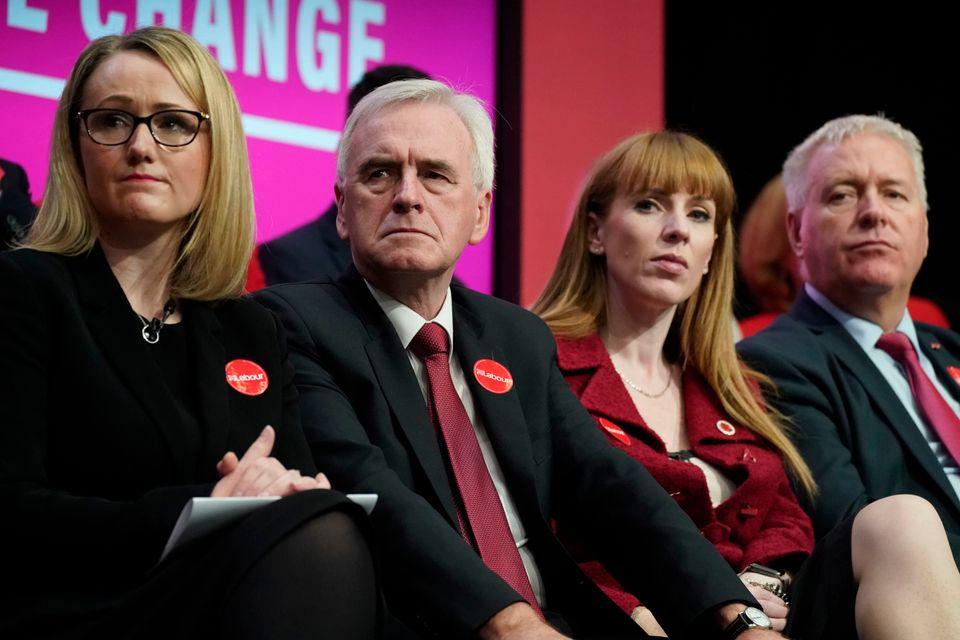 Rebecca Long-Bailey, John McDonnell and Angela