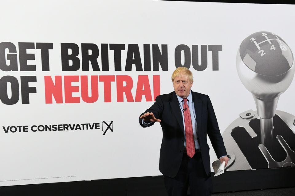 Boris Johnson unveils his latest