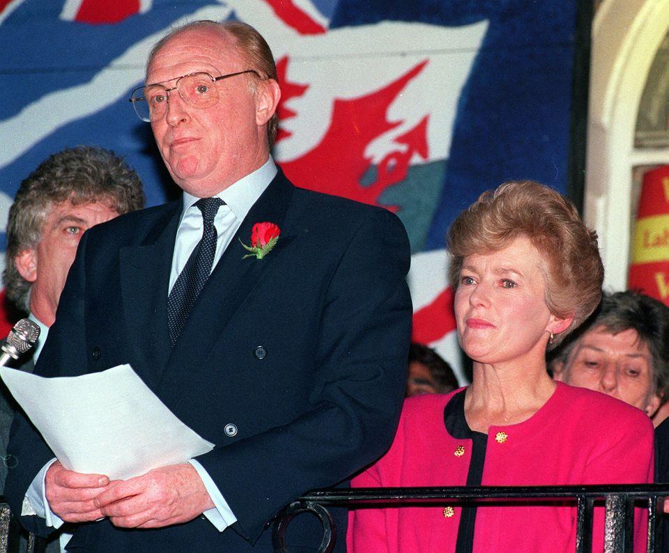 Neil Kinnock resigns in