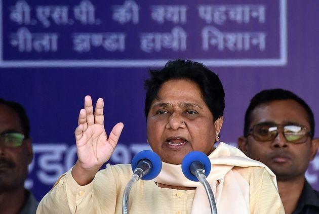 BSP chief Mayawati in a file