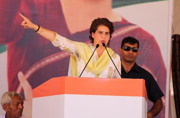 Congress general secretary Priyanka Gandhi Vadra in a file