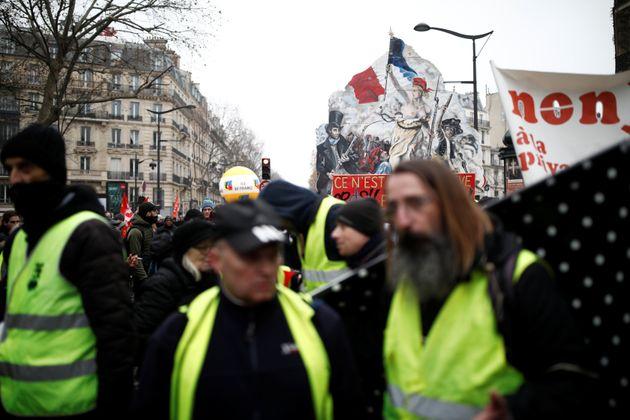 Gilets jaunes à Paris le 5
