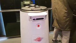 AI로봇에게 호텔 룸서비스를 받아봤다. 아직 사람을 '대체'할 수준은