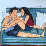 Queste illustrazioni ci mostrano cos'è veramente l'amore tra le mura