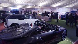 Λάμψη πολυτελών αυτοκινήτων στο Ecali