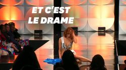À Miss Univers, Maëva Coucke chute mais ne se laisse pas