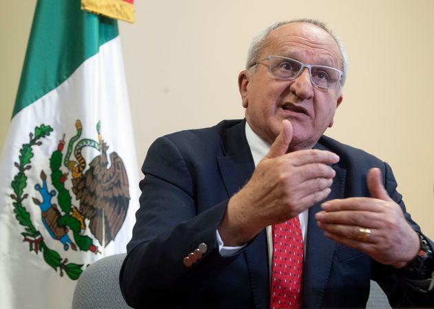 Le sous-secrétaire mexicain pour l'Amérique du Nord Jesus Seade (photo