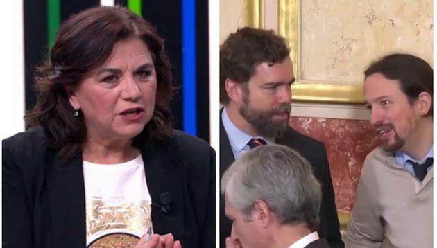 Lucía Méndez, Iván Espinosa de los Monteros y Pablo