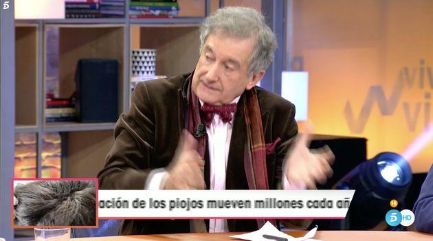 El forense Leopoldo Monasterio en 'Viva La