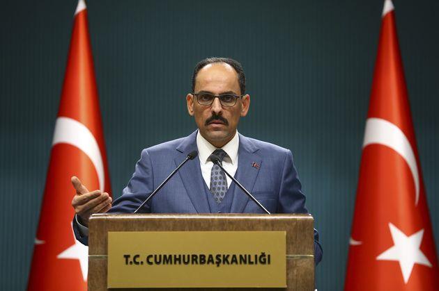 Ο εκπρόσωπος της Τουρκικής...