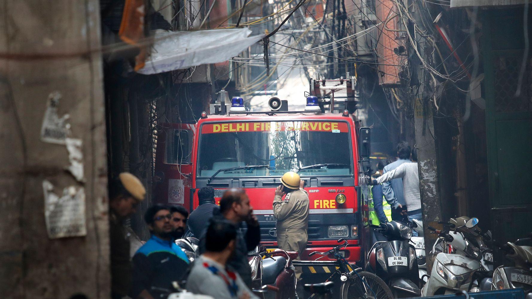 Devastating Factory Fire Kills At Least 43 In New Delhi