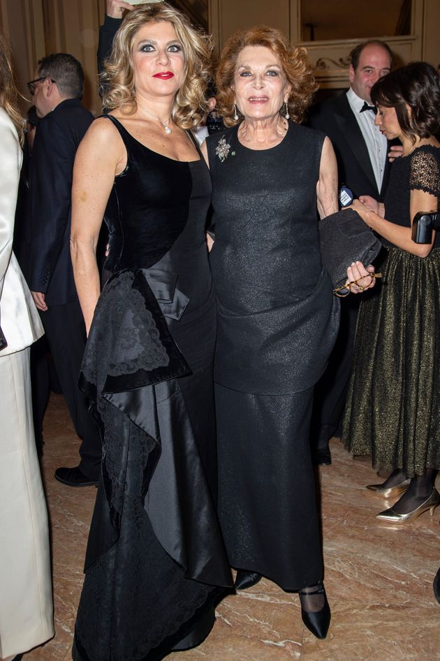 MILAN, ITALY - DECEMBER 07:(L-R) Gigliola Castellini Curiel and Raffaella Curiel attends the