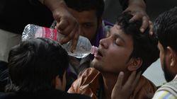 Al menos 43 muertos al incendiarse una fábrica de bolsos en Nueva Dehli