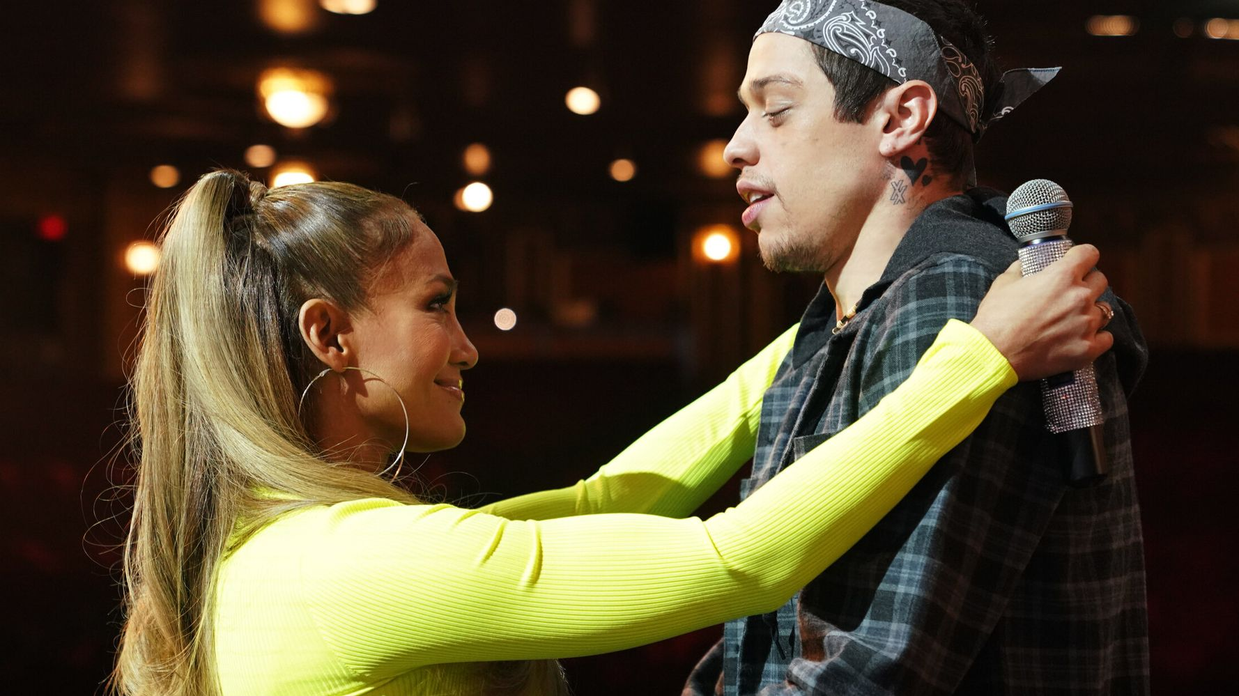 Like Many Before Her, Jennifer Lopez Risks It All For Pete Davidson On 'SNL'