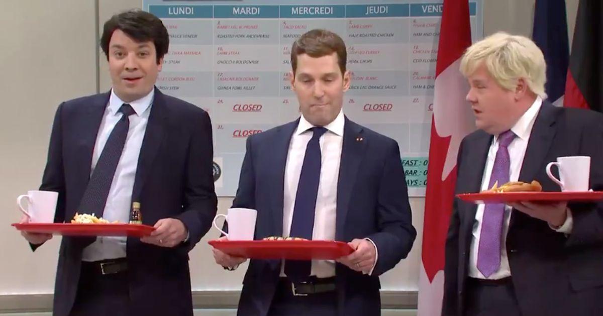 SNL reprend les railleries de Trudeau et cie à l'endroit de Trump