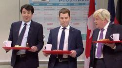 SNL reprend les railleries de Trudeau et cie à l'endroit de