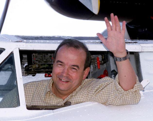 Le spationaute Patrick Baudy, ici en 1998, s'en prend violemment à