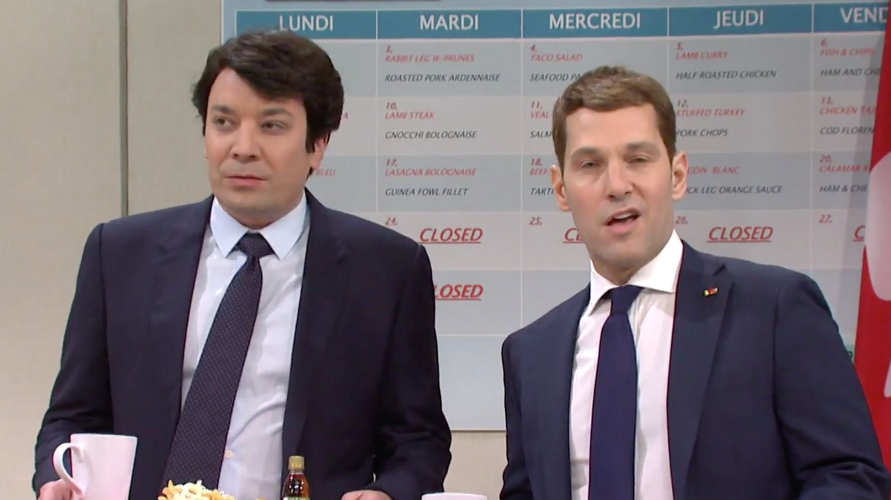 Jimmy Fallon Channels 'Mean Girls' In Playing Trudeau On 'Saturday Night Live'