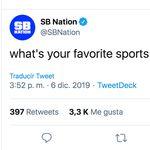 Las geniales respuestas desde España a la pregunta en Twitter de esta web de deportes de