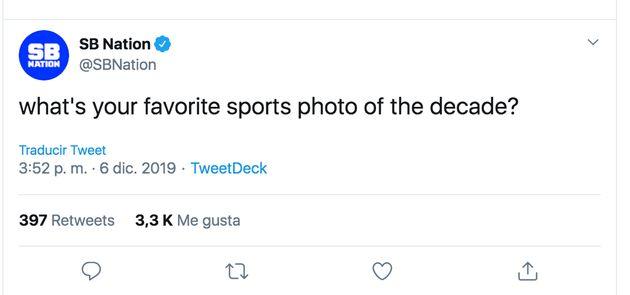 La pregunta de una web deportiva de EEUU que ha desatado el cachondeo entre los tuiteros