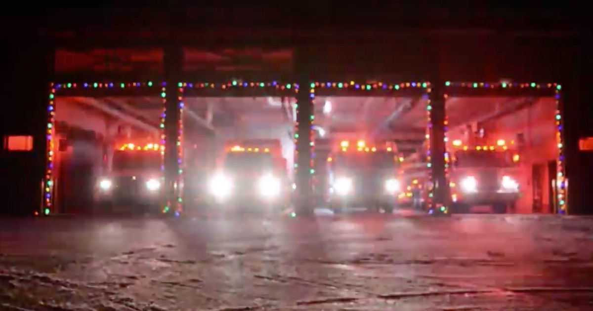 Gander Fire And Rescue's Christmas 'Carol Of The Bells' Video Is Mesmerizing