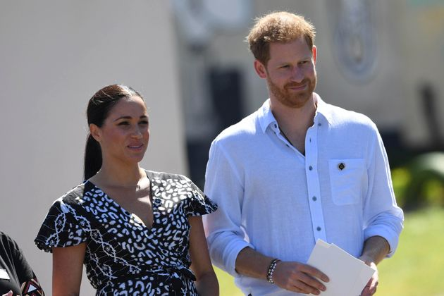 Prince Harry, Duke of Sussex, Meghan, Duchess of Sussex in South Africa.
