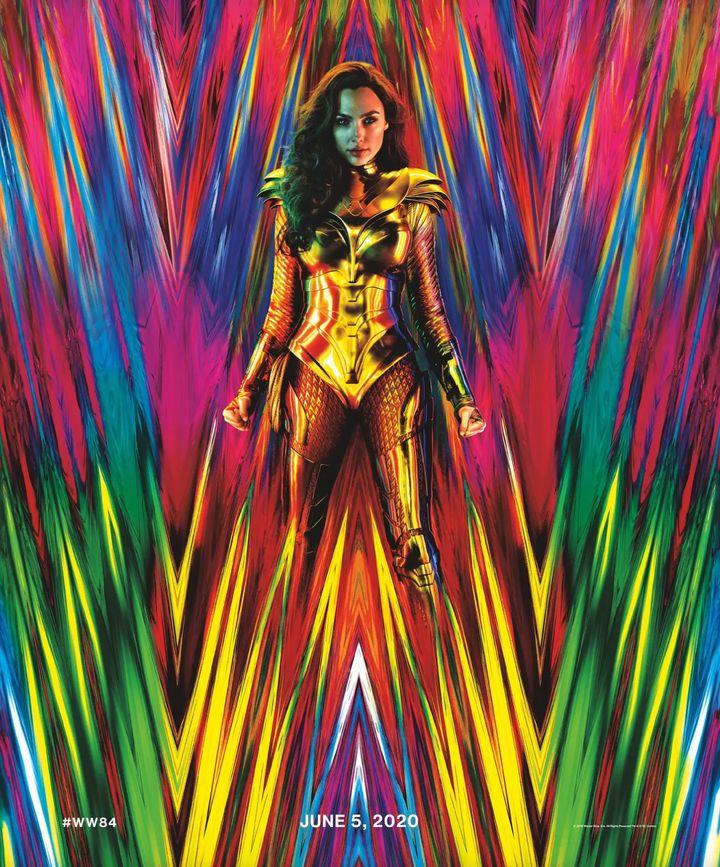 L'affiche de «Wonder Woman 1984»