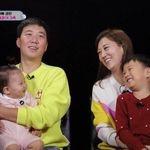 '슈돌' 치트키 도경완-장윤정 부부가 딸 하영이를 공개했다