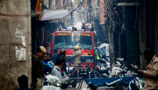 'Their Only Fault Was They Were Poor': Delhi Fire Victims Lived And Worked In Unsafe